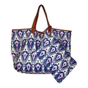 Stella & Dot Bags - Stella & Tote Reversible Tote with Pouch